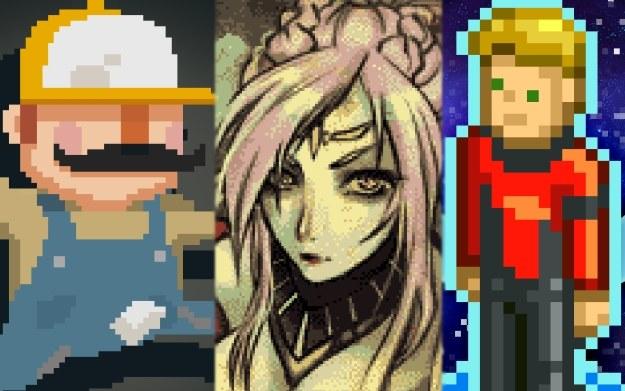 Pixel art /materiały prasowe