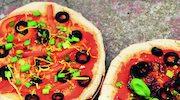 Pizza gryczano-jaglana