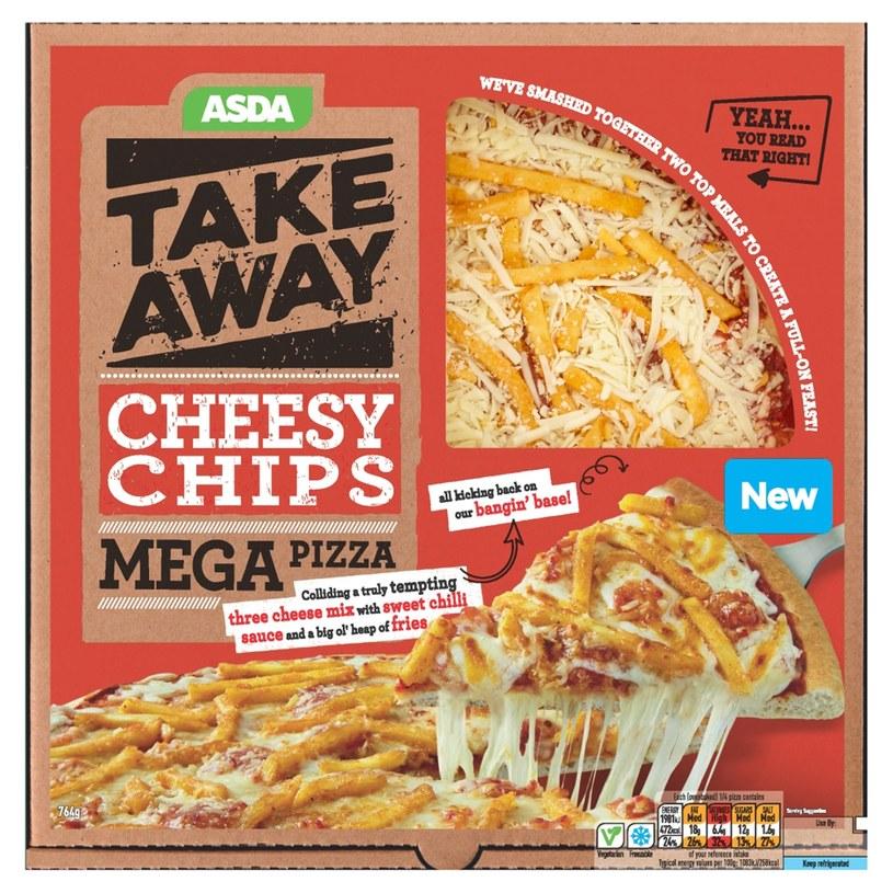 Pizza z frytkami zaspokoi apetyt każdego łasucha /East News