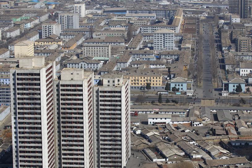 Pjongjang - szara, betonowa stolica Korei Północnej /AFP