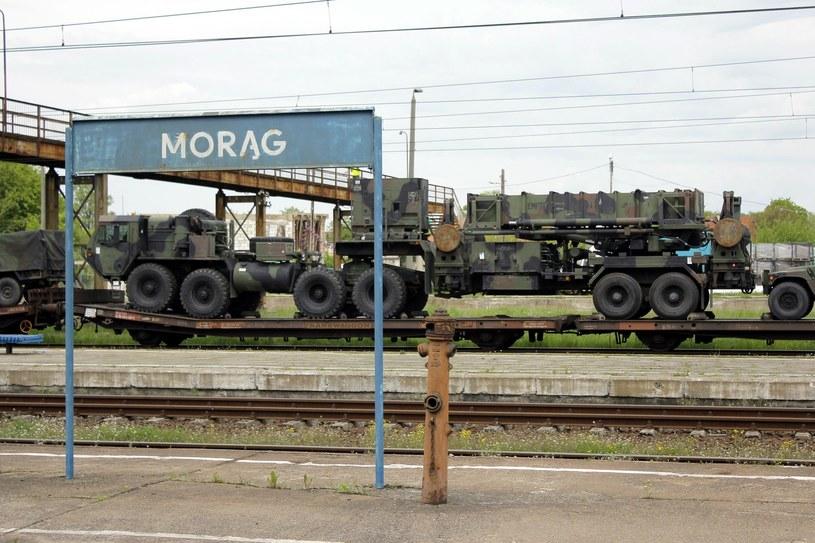 PKP Cargo zabezpiecza transport dla wszystkich wojsk NATO poruszających się po Polsce /PIOTR PLACZKOWSKI/REPORTER /East News