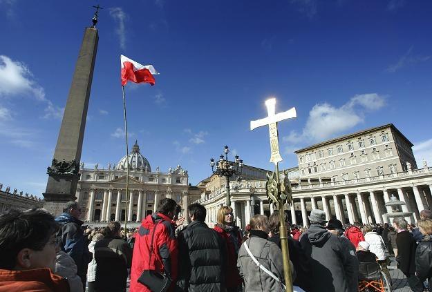 Plac św. Piotra w Rzymie /AFP