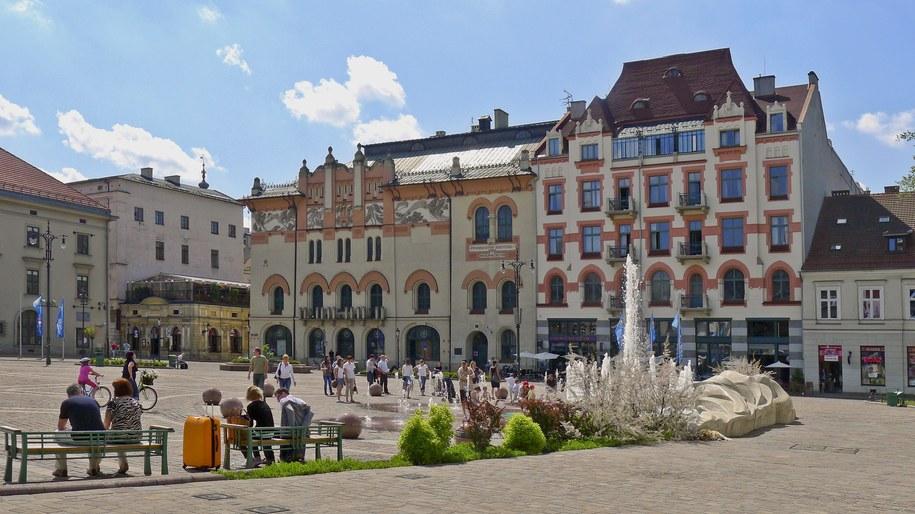 Plac Szczepański /Jerzy Ochoński   /PAP