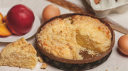 Placek brzoskwiniowy z kruszonką