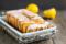 Placek cytrynowy z lukrem