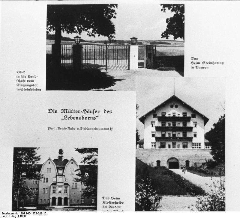 Placówki Lebensbornu były rozsiane po całych Niemczech /Wikimedia Commons /