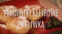 Placuszki kefirowe ze śliwką