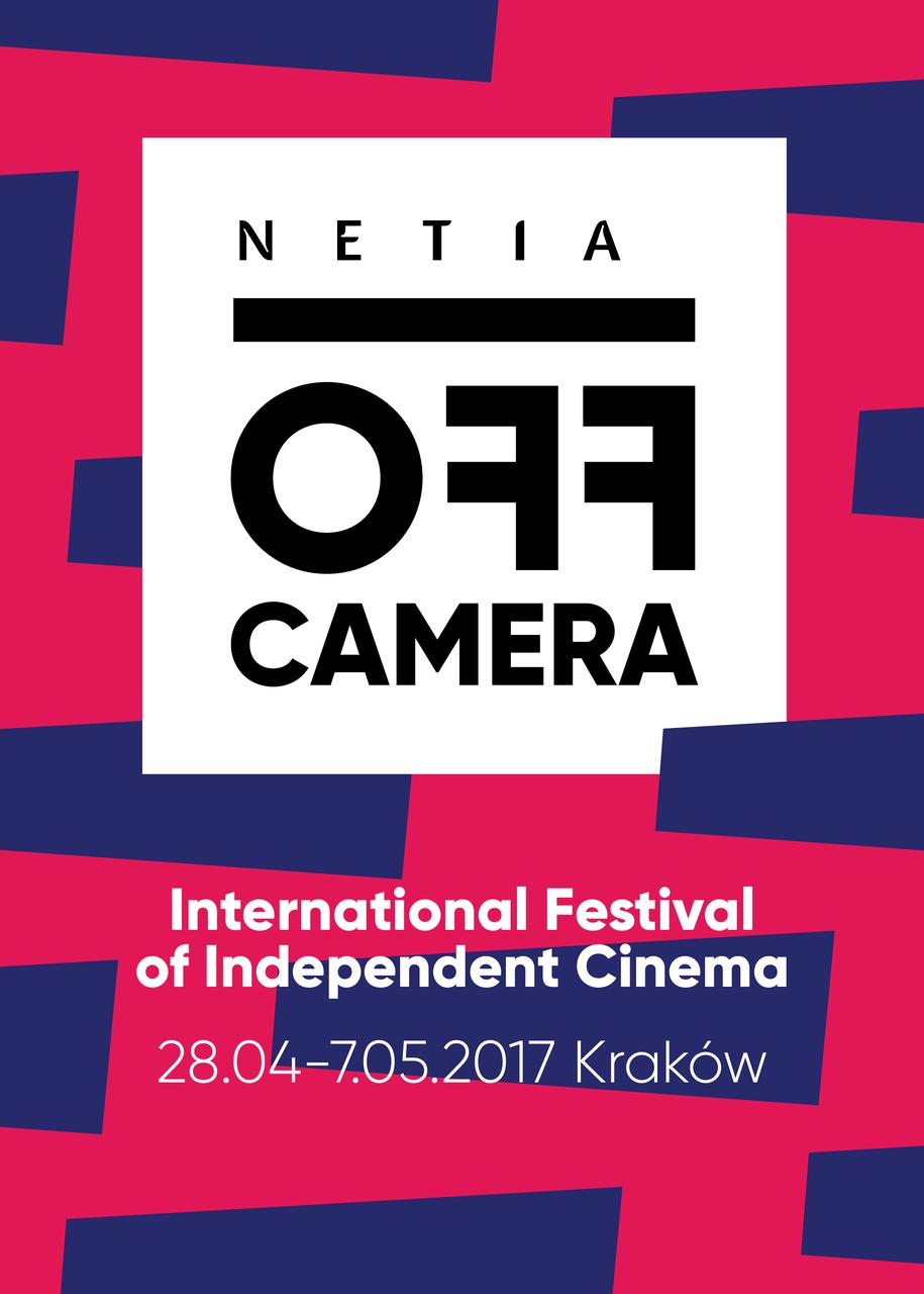 Plakat 10. edycji festiwalu /Netia Off Camera /materiały prasowe