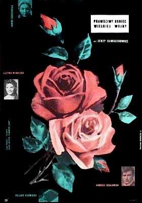 """Plakat Borowczyka do filmu """"Prawdziwy koniec wielkiej wojny"""" Jerzego Kawalerowicza /"""