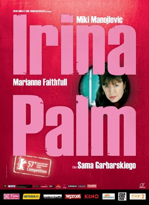 """Plakat do flmu """"Irina Palm"""" /  /materiały promocyjne"""
