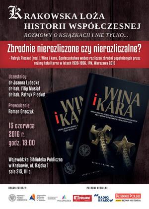 Plakat dyskusji /IPN