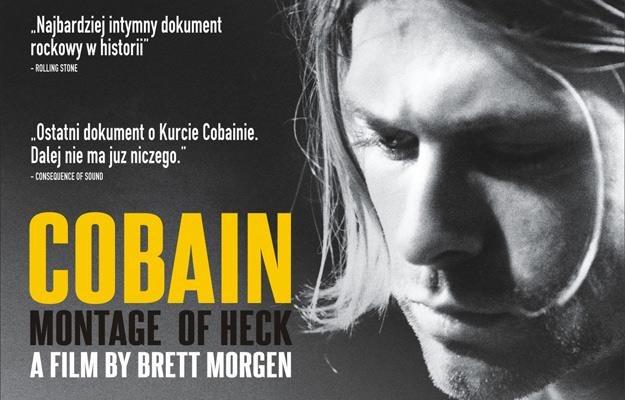 """Plakat filmu """"Cobain: Montage of Heck"""" /materiały prasowe"""