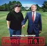 """Plakat filmu """"Fahrenheit 9.11"""" /"""