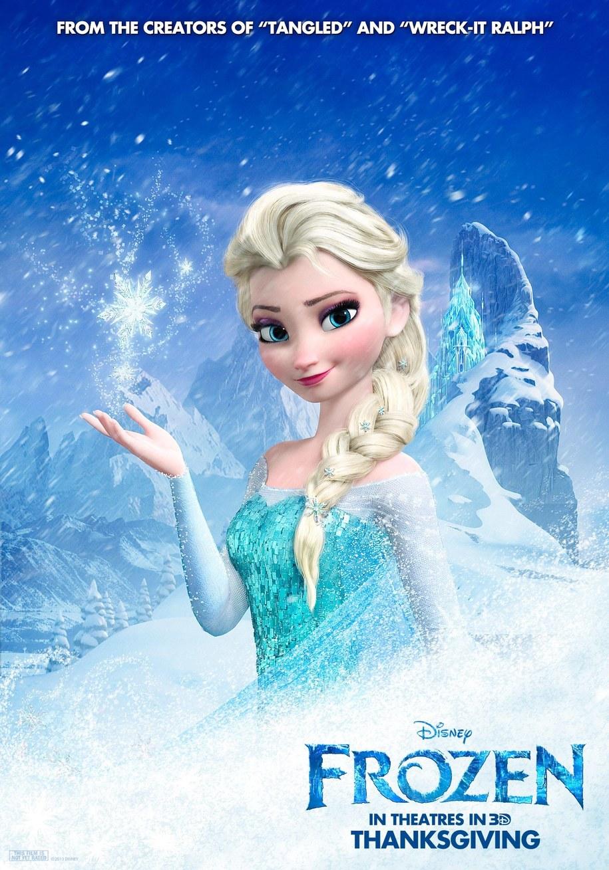 """Plakat filmu """"Frozen""""/ """"Kraina Lodu"""" Disney / PAP/Photoshot    /PAP"""