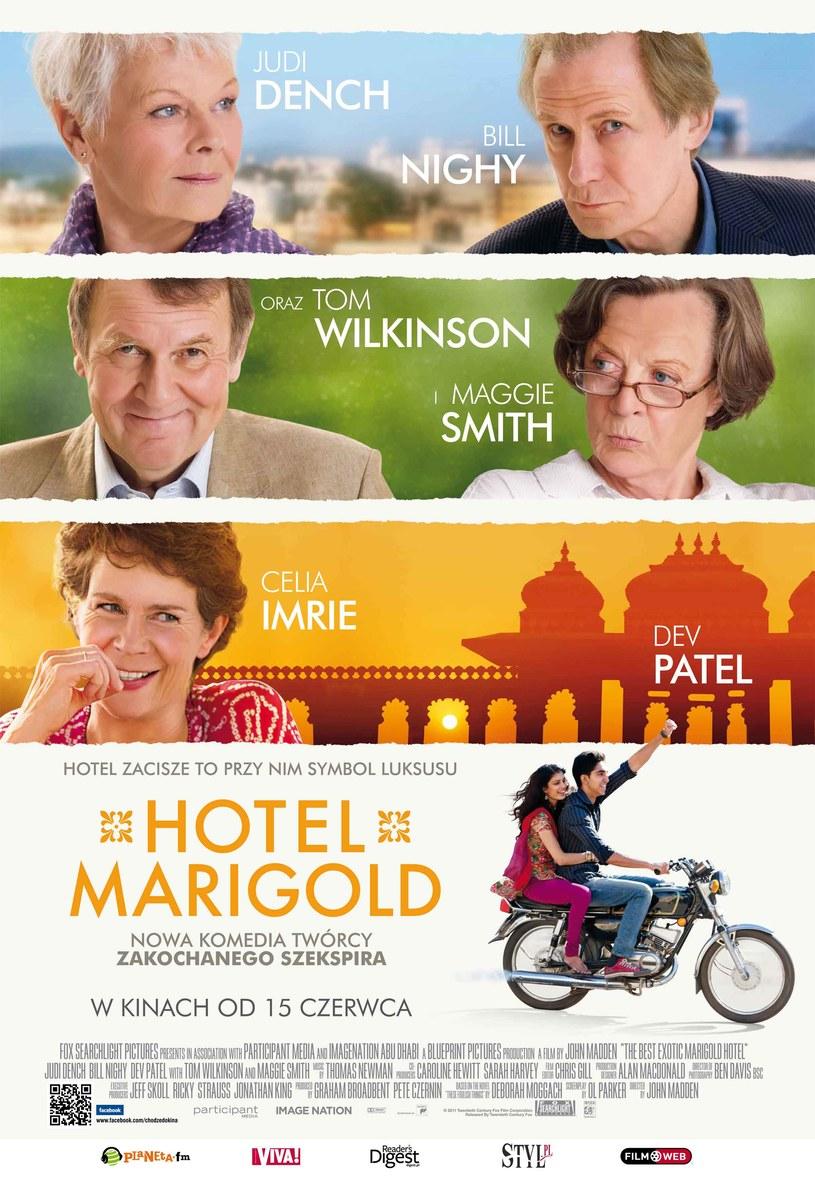 "Plakat filmu ""Hotel Marigold"" /- /materiały prasowe"