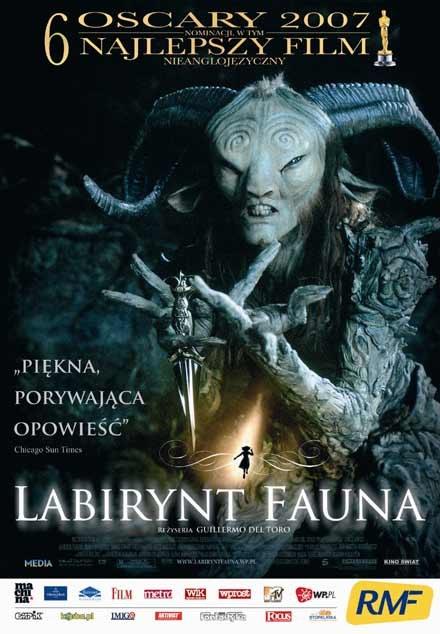 """Plakat filmu """"Labirynt Fauna"""" /"""