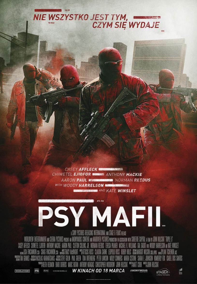 "Plakat filmu ""Psy mafii"" /materiały dystrybutora"