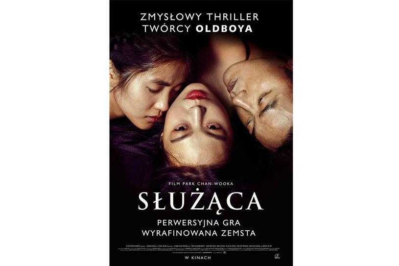 "Plakat filmu ""Służąca"" /materiały prasowe"