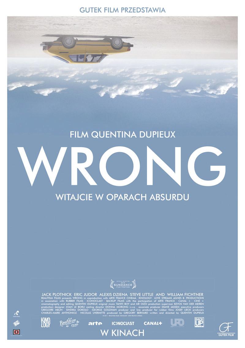 "Plakat filmu ""Wrong"" /Styl.pl/materiały prasowe"