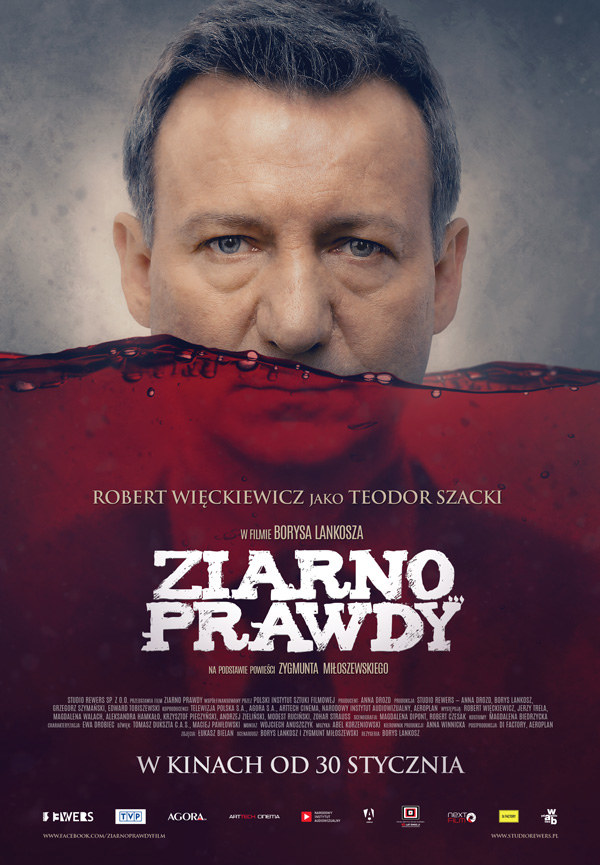 """Plakat filmu """"Ziarno prawdy"""" /materiały prasowe"""