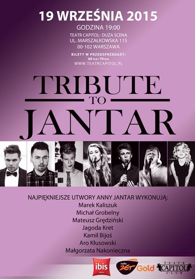 "Plakat koncertu ""Tribute to Jantar"" /materiały prasowe"