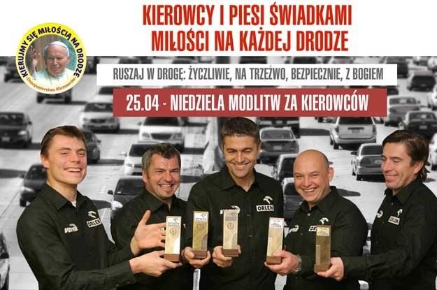 Plakat, który trafił do wszystkich 10500 parafii w Polsce /
