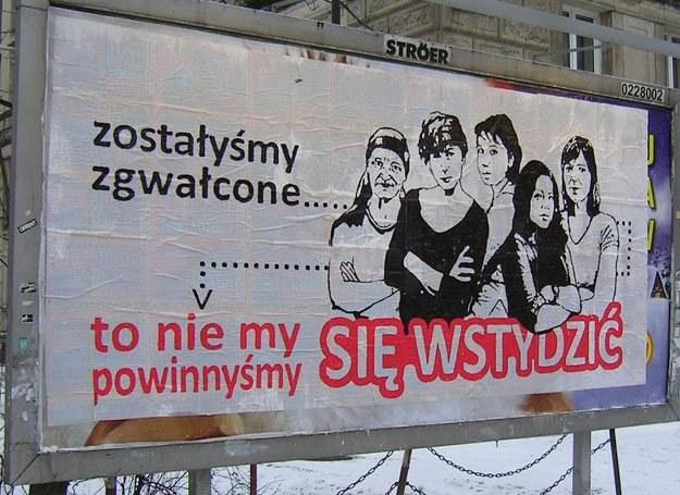 Plakat pojawił się na warszawskich ulicach /materiały prasowe