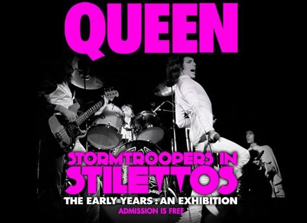 """Plakat poświęcony wystawie """"Stormtroopers In Stilettos"""" /"""