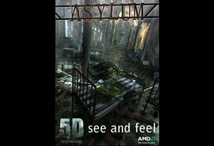 Plakat promujący film Asylum 5D /materiały prasowe