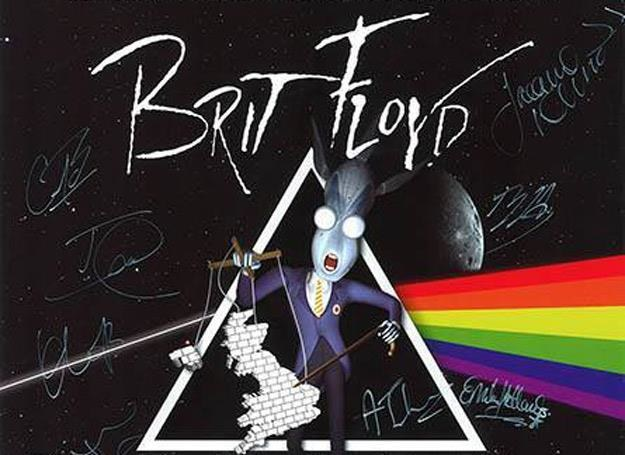 """Plakat reklamujący światową trasę """"P-U-L-S-E 2013"""" Brit Floyd /Oficjalna strona zespołu"""