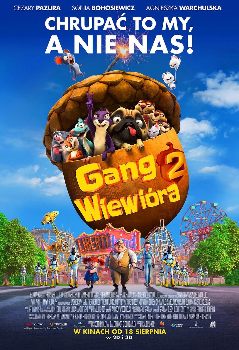 """Plakat z filmu """"Gang Wiewióra 2"""" /materiały prasowe"""