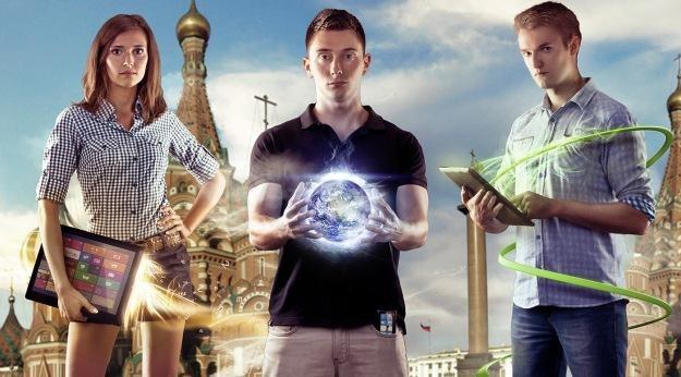 Plakat zachęcający do startu w Imagine Cup 2013 autorstwa Michała Orzełka, laureata Imagine Cup 2011 /materiały prasowe
