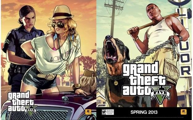 Plakaty promujące Grand Theft Auto V /CDA