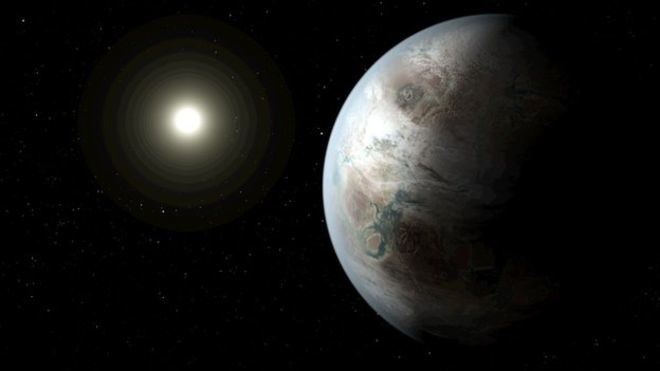Planeta Kepler-452b okrążą swoją gwiazdę w 385 dni, podobnie jak Ziemia /NASA