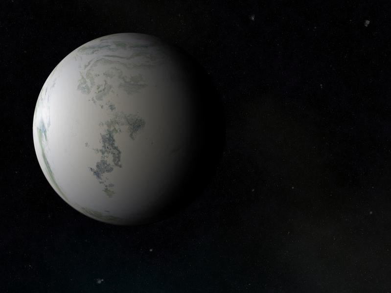 Planeta nazwana OGLE-2016-BLG-1195Lb znajduje się aż 13 tysięcy lat świetlnych od Ziemi /123RF/PICSEL