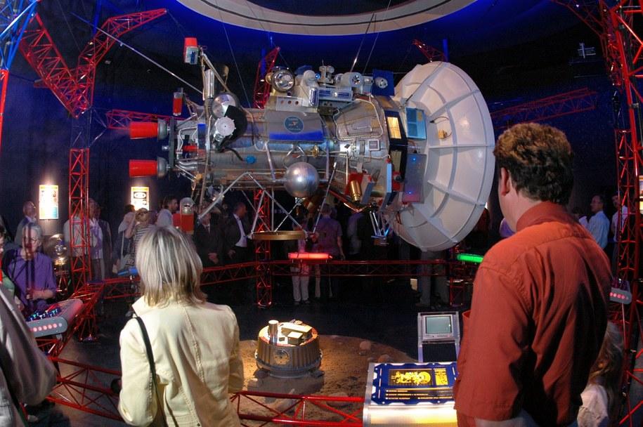 Planetarium działa od 1994 roku. Prezentowane są tu seanse astronomiczne z zakresu wiedzy astronomicznej /WOJTEK SZABELSKI    /PAP
