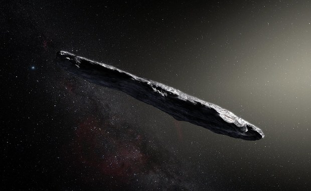"""Planetoida naprawdę """"nie z tej ziemi"""""""