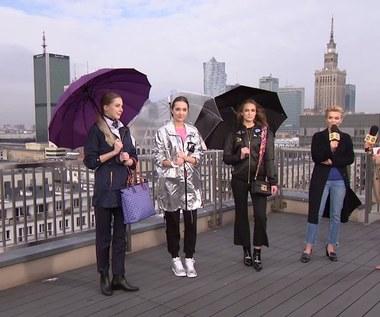 Płaszcze i kurtki na deszcz. Praktyczne stylizacje Eweliny Rydzyńskiej