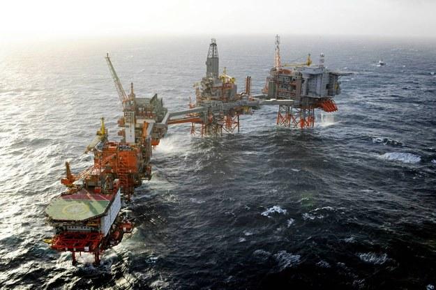 Platforma Valhall firmy BP na wodach norweskich Morza Północnego /PAP/EPA