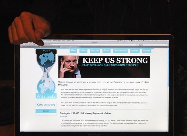Platforma WikiLeaks ujawniła powiązania bułgarskich klubów piłkarskich z mafią /AFP