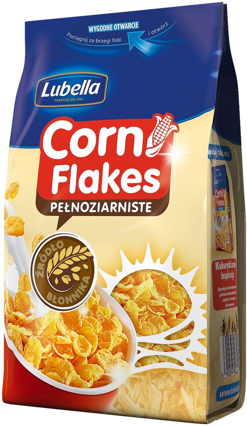 Płatki Corn Flakes pełnoziarniste /materiały prasowe