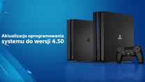 PlayStation 4: Aktualizacja 4.50 już dostępna do pobrania