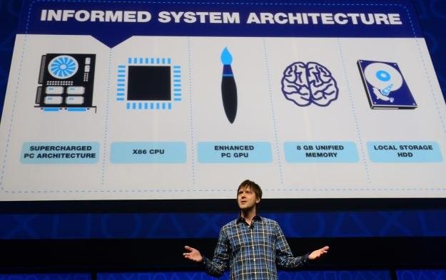 PlayStation 4 - zdjęcie z lutowej prezentacji nowej konsoli Sony /AFP
