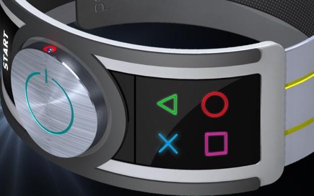 PlayStation Pulsce Controller - fragment zdjęcia zamieszczonego na stronie ps4playstation4.com. Grafika przedstawia prototyp urządzenia /materiały prasowe