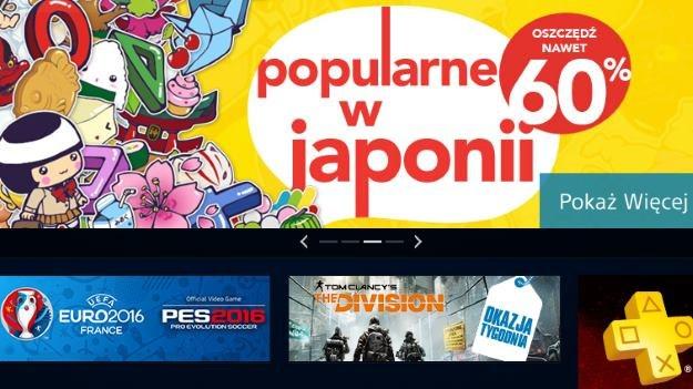 PlayStation Store /materiały prasowe