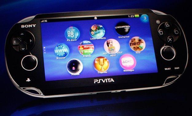 PlayStation Vita - zdjęcie konsoli /AFP