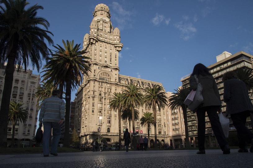 Plaza Independencia w Montevideo              fot. Diego Giudice /The New York Times Syndicate