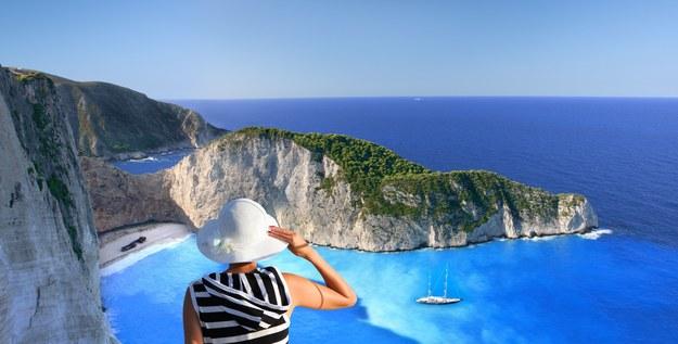 Plaża na wyspie Zakintos jest uznawana za jedną z najpiękniejszych na świecie /123/RF PICSEL
