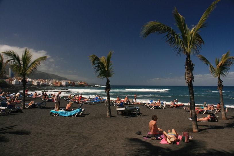 Plaża Puerto de la Cruz Teneryfa /123RF/PICSEL