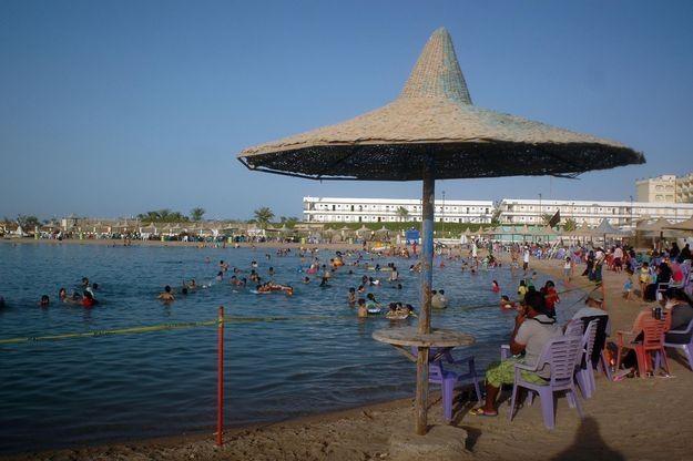 Plaża w Hurghadzie /AFP